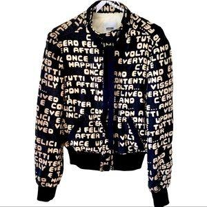 Moschino Graffiti Jacket.
